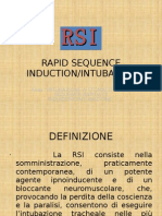 Rsi (Rapid Sequence Induction and Intubation)