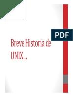 1.1 Breve Historia de UNIX