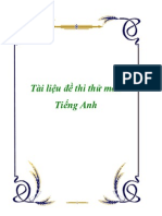 Tai Lieu Thi Thu Mon Tieng Anh