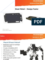 Rapid Sheet Metal Presentation Design Faster