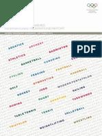 RIO2016 International Federations Report