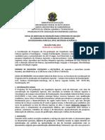 Edital Mestrado Ufmt Eng Agricola