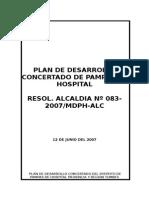 Plan de Desarrollo Concertado Pampas