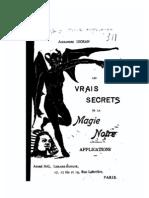 Les Vrais Secrets de La Magie Noire