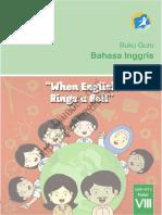 SMP Kelas _8 Bahasa Inggris, When English Rings a Bell (Buku Guru)