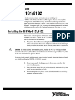 NI PXIe-8101/8102