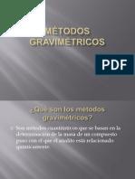 Métodos Gravimétricos