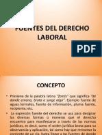 Fuentes Del Derecho Laboral