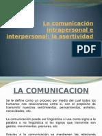 La Comunicación Intrapersonal e Interpersonal