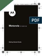 Motorola EX128 Manual Utilizare