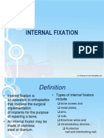 Internal Fixation