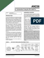 X-10 Automatizacion Del Hogar Usando El PIC16F877A. Burroughs, J. (2000). AN236