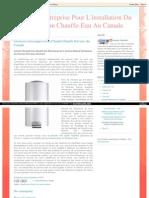 Acheter Nouvelle Eau Chauffe-Eau Électriques Ou Y Anciens Réparé Entreprises de Premier Plan Dans Montréal