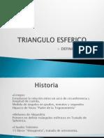 TRIANGULO ESFERICO
