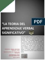 Teoria Del Aprendizaje Verbal Significativo
