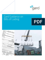 Gard Guidance Bills of Lading March 2011