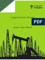 Oil India 2013