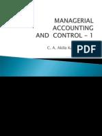 MAC-1 Lecture 1 - Balance Sheet