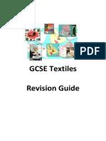 GCSE Textiles Revision Guide
