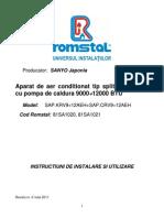 Manual aer conditionat Habitat
