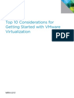 Top 10 Considerations Getting Started With WM Virtualization