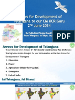 Arrows for Development of Telangana