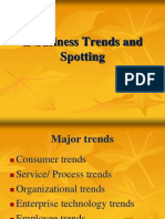 E- Business Trends and Spotting