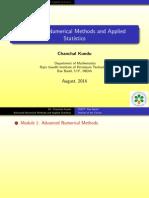 Advance numerical analysis
