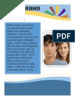 adolescence poster social influences