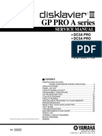 Yamaha AMP Gp Pro a Series-disklavier III-dc3a Dc5a Dc6a Dc7a Ds4a Ds6a Dcf3sa Pro