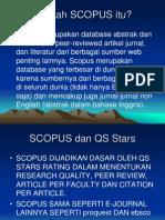 SCOPUS Basis Data Elektronik Untuk QS Stars1