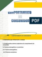 Ponto II.2.4 Factores Demograficos e Economicos