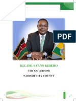 NAIROBI CITY COUNTY TASKFORCE   ON EDUCATION REPORT