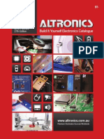 Altronics 2014-15 Build It Yourself Electronics Catalogue