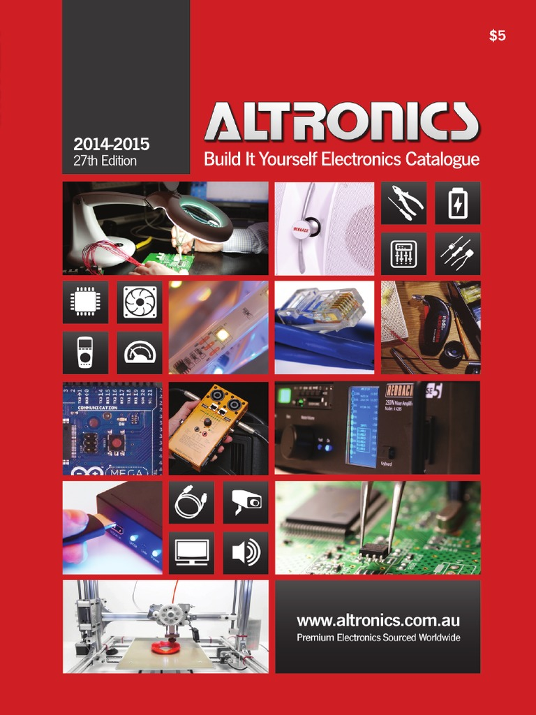 Altronics 2014 15 Build It Yourself Electronics Catalogue Hdmi Usb Trend Wiring Diagram Vga Connector Ceiling Rose