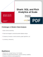 Shark SQL and Rich Analytics at Scala Reynold Xin