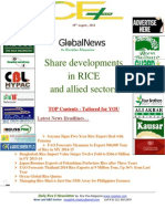 19th August,2014 Daily ORYZA Rice E-Newsletter by Riceplus Magazine