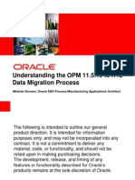 6-11Understanding the OPM 11.5.10 to R12 Data Migration