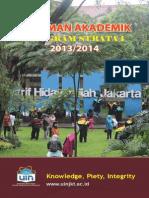 Pedoman Akademik 2013_2014