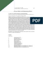 Wu Gas Flow in Porous Media With Klinkenberg Effects