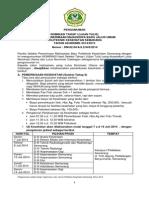 Pengumuman Nominasi Tahap 1 Jalur Umum 2014