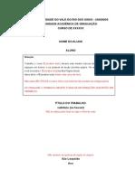 Modelo Projeto Tcc i Direto 2013