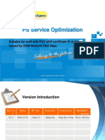 GSM Network Optimization Express-PS Service OptimizationV1.0