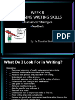 Assessing Writing Skills(1)