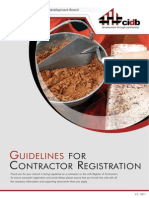 Brochure CIDB Contractor Registration Guidelines