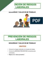 Prevencion Riesgos Laborales - Presentacion 3 ESO