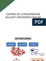 Control de Proliferacion Celular y Crecimiento Tisular