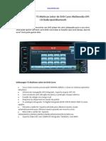 OEM Volkswagen T5 Multivan Leitor de DVD Carro Multimedia GPS CD Rádio iPod Bluetooth