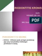 PERIODONTITIS KRONIS PPT