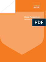 igcse global perspectives individual research guide